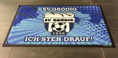 """Fanmatte SV Grödig - """"ich steh drauf!"""""""
