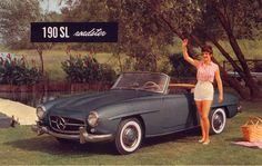 Mercedes 190SL Roadster. For all your Mercedes Benz 190SL restoration needs please visit us http://www.bruceadams190sl.com/