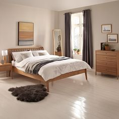 House by John Lewis Maine Bedroom Furniture Range, Ash Oak Bedroom Furniture Sets, Bedroom Furniture Makeover, Home Decor Bedroom, Dining Room Furniture, Furniture Decor, John Lewis, Decoration, Buy House, Double Wardrobe