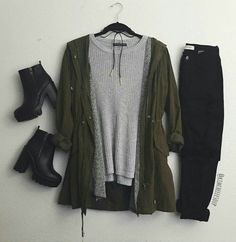 Imagem de clothes, outfit, and style Look Fashion, Teen Fashion, Fashion Outfits, Womens Fashion, Fashion Clothes, Fall Fashion, Fall Winter Outfits, Autumn Winter Fashion, Mode Outfits