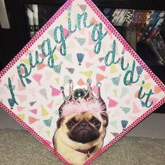 This pun expert: | 24 Graduation Caps That Totally Fucking Nailed It