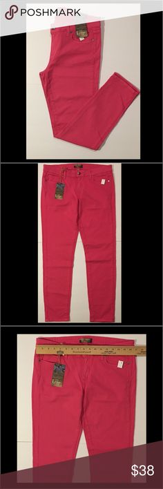 NEW PAIGE PINK JEANS - SIZE 31 New Paige Pink Jeans/ Length: 37 inches 1/2 -Size: 31/ Color: Pink/ No Weekend Shipping/ Thank You!!! Paige Jeans Jeans Skinny