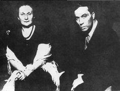 Anna Achmatova and Boris Pasternak