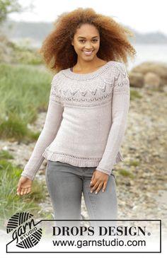 Ravelry Free Knitting Patterns, Baby Knitting Patterns, Baby Patterns, Scarf Patterns, Knitting Tutorials, Free Pattern, Drops Design, Finger Knitting, Knit Cowl