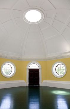 Photo Credit: Thomas Jefferson Foundation at Monticello, photograph by Leah Stearns. Jefferson built the first dome to grace a house in America, but historians still dont know if the room it topped ever had much of a purpose.