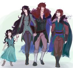 eragon arya Family of Riders by ElizaLento.deviantart.com on @deviantART: I don't really like them together, but this is cute.