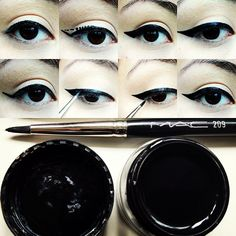 cat eyeliner - how to