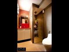 Master Bathroom Ideas   OMUS living  Note: Possible bathroom partition for shower area and sink and toilet