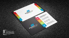 Vibrant & Creative Multi-color Business Card Template => More at designresources.io