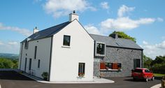House Designs Ireland, Houses In Ireland, Ireland Homes, Two Storey House, Modern Architecture, Modern Farmhouse, Architects, House Plans, New Homes