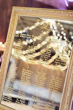gold wedding ideas 1