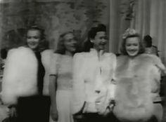 Carole Landis, Evelyn Keyes, Jane Withers & Anne Shirley