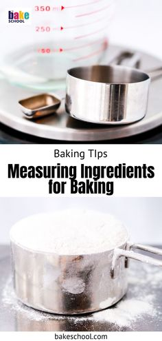In baking, you have no choice but to measure ingredients from the start. Learn the tips and tricks for accurately measuring ingredients for baking. Baking Hacks, Baking Tips, Baking Recipes, Baking Science, Food Scale, Pour Over Coffee, Kitchen, Cooking Recipes, Cucina