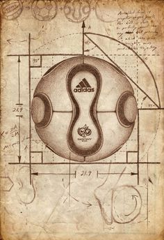 Adidas Teamgeist Soccer Football Poster Print  by soccm84 on Etsy, $35.00