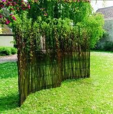 Marvelous English Hurdle   UK Producers Of Natural Willow Products, Hurdles,  Climbers, Furniture And · Living Willow FencePrivacy ...