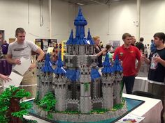 This huge Lego Legend of Zelda Hyrule Castle took 2.5 years to build - CNET