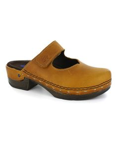 Another great find on #zulily! Papaya Emma Leather Clog by Wolky #zulilyfinds