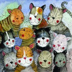 'Cats Choir' by Alex Clark (E053)