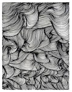 Free coloring page «coloriage-zen-adulte-vortex».