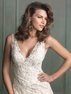 Allure Bridal Lace Wedding Dress Size 10 with Veil Cheap Wedding Dresses Online, Luxury Wedding Dress, Formal Dresses For Weddings, Wedding Dresses For Sale, Wedding Dress Sizes, Bridal Wedding Dresses, Lace Wedding, Backless Wedding, Mermaid Wedding
