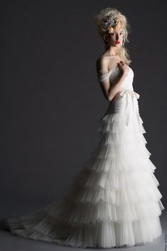 Cymbeline Wedding Dresses 2014. To see more: http://www.modwedding.com/2014/05/02/cymbeline-wedding-dresses-2014/ #wedding #weddings #fashion