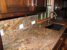 Kitchen Backsplash Granite honey oak cabinets what color granite | not so sure gray granite
