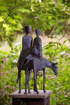 Sculpture by Terence Coventry at Withiel Garden, Cornwall from LSG