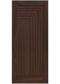 SPLIT A custom door design with a retro overtone this select grade wood door is packed with texture. Rendering shown in Rift White Oak. Wooden Front Door Design, Wooden Front Doors, Wood Doors, Bedroom Door Design, Door Design Interior, Latest Door Designs, Single Main Door Designs, Flush Door Design, Door Design Images