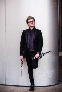 Final Fantasy XV Ignis Stupeo Scientia Cosplay Costume Comic Con Iggy Man Suit