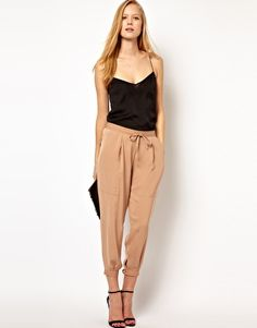 ASOS Luxe Tapered Trousers. Ahhhh I want, so perfect for spring/summer at the office