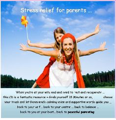 Stress Relief for Parents CD and MP3