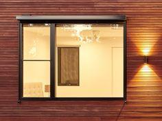 Asymmetric window co
