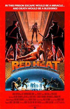 Red Heat - 1985 - Movie Poster
