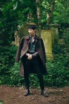 Kim Sang Woo by Olivier Yoan for Elle Man Vietnam July 2016