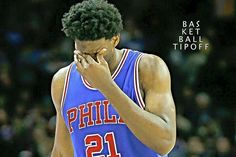 BREAKING: Joel Embiid has been shut down out for the remainder of the season after MRI on his left knee.  - AC3
