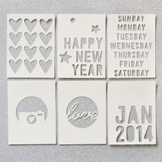 Journaling Card Cut Files by In A Creative Bubble at @Studio_Calico