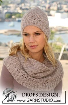Free Pattern: Hat and Neck Warmer