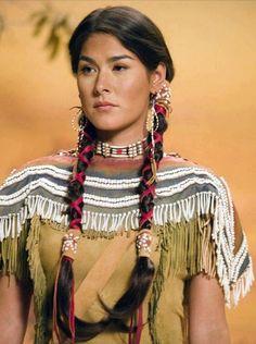 Native American hair ties