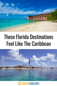 These beautiful, tropical destinations in Florida feel like a Caribbean paradise. Enjoy the beach life this summer! Best Bucket List, Places In Florida, Hidden Beach, Swimming Holes, Summer Travel, Natural Wonders, State Parks, Caribbean, Travel Destinations