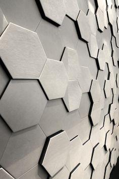 Hexagonal Wall Candy Design