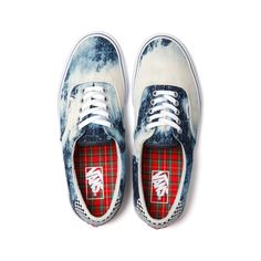 Vans Supreme Era Denim Pack ❤ liked on Polyvore featuring shoes, sneakers, vans and flats