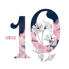 Cool Numbers, Promotional Design, Vogue Japan, Typography, Symbols, Graphic Design, Poster, Inspiration, September