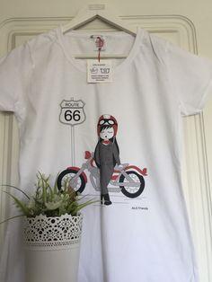 Un favorito personal de mi tienda Etsy https://www.etsy.com/es/listing/276271508/camiseta-chica-100-algodon