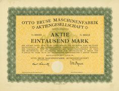 Otto Bruse Maschinenfabrik AG