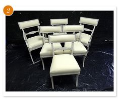 some swedish chairs we're considering for the round dining table. Good Bones, Great Pieces.