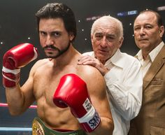 Robert De Niro Coaches Roberto Duran In First Image from HANDS OF STONE