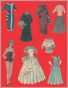 Pia - newspaper PD 1950s* 1500 free paper dolls at artist Arielle Gabriel's The International Paper Doll Society also free China paper dolls at The China Adventures of Arielle Gabriel, the Canadian travel site on Hong Kong & China