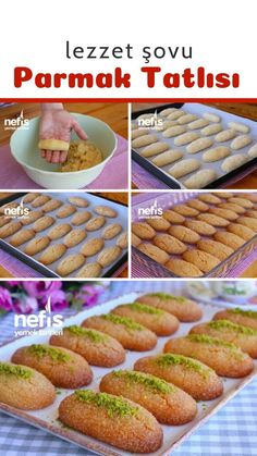 Turkish Recipes, Ethnic Recipes, Finger Desserts, Chocolate Turtles, Baked Potato, Ham, Yummy Food, Yummy Yummy, Muffin