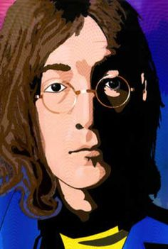 An early Illustrator portrait of John Lennon