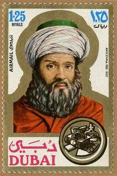 Dubai Stamp - honoring Avicenna